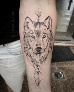 Wolf Tattoos 91315 Wolf tattoos: several beautiful images for inspiration - Wolf tattoos: several . - Wolf tattoos: several beautiful images for inspiration - Wolf tattoos - Kurt Tattoo, Tattoo L, Tattoo Und Piercing, Body Art Tattoos, Tattoo Drawings, Circle Tattoos, Fish Tattoos, Wild Tattoo, Tattoo Forearm