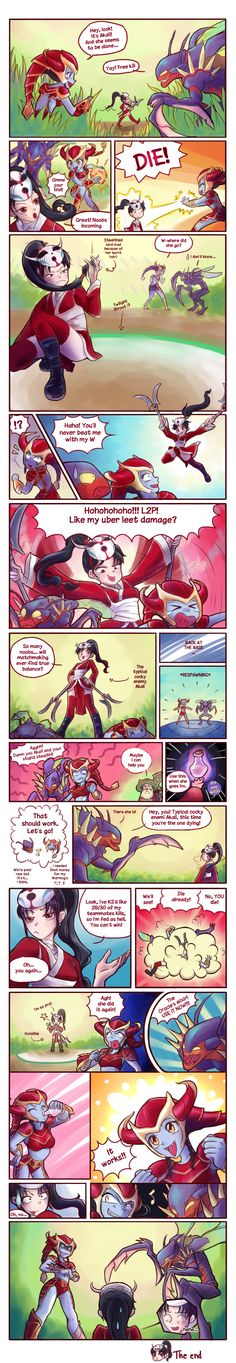 Those annoying fed Akalis by Musettethecat.deviantart.com on @deviantART -  shyvana, kha'zix, oracle's - league of legends