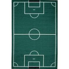 LA Rug, Fun Time Soccerfield Multi Colored 39 in. x 58 in. Area Rug, FT 134 3958 at The Home Depot - Mobile