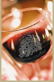Becker Vineyards Reserve Merlot 2009. Frederickburg, Texas. My favorite!