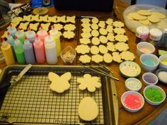 """Use the link below to find the recipe for """"Lauri Mather's World's Best Sugar Cookie Dough"""" & """"Royal Icing""""...the finished product is too pretty to think of eating! Check them out ~    http://www.foodbuzz.com/blogs/5284219-easter-cookies"""