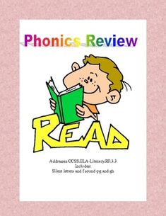Phonics Review  Addresses CCSS.ELA-Literacy.RF.3.3 This ten page packet reviews some of the silent letters and letter combinations that make reading and spelling a challenge for students.  Reading, spelling, and writing these combinations will help your students expand their vocabulary as it increases their decoding skills. Teacher Answer Key is included. Addresses CCSS.ELA-Literacy.RF.3.3 Includes:Silent letters and f sound-pg and gh
