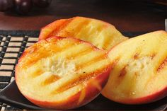 Make your own grilled peaches