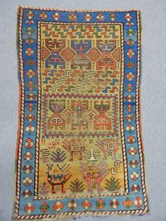 Caucasian Small Carpet