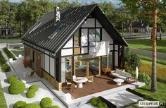 Projekt domu EX 15 (de Pracownia Projektowa ARCHIPELAG)