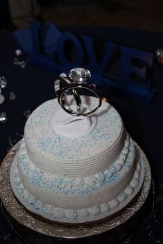 Ahhh, I Knew Someone Out There Had To Have Done This Before, PERFECT! DQ Ice  Cream Wedding Cake!