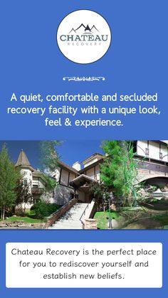 Chateau Recovery is the perfect place for you to rediscover yourself and establish new beliefs. Not sure? Take a look at some of the facility photographs below, watch a video or read testimonials from past clients. We are ready to provide help!