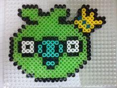 ..Angry birds hama perler beads