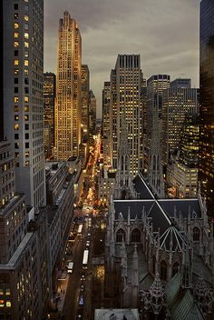 Late in the afternoon (december in NY) by angelocesare, via Flickr