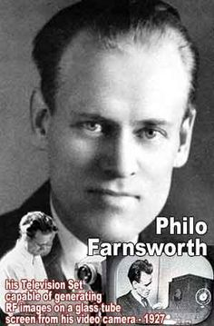 The Boy Who Invented TV: Philo T. Farnsworth