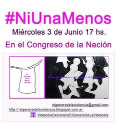 Violencia de Género - El Género de la Violencia: #NiUnaMenos - El Delantal de la Mujer Sumisa
