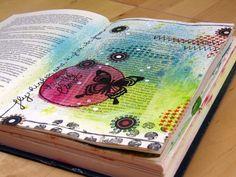 i love Birgit's art journals!!
