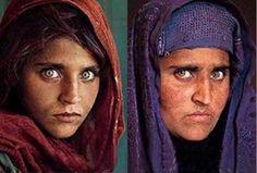 Sharbat Gula  es una mujer afgana de la etnia pashtún quien se vio obligada a huir de Afganistán rumbo a Pakistán hacia un campo de refugiados donde fue fotografiada por Steve McCurry de la National Geographic. La imagen se hizo famosa cuando fue publicada en la portada de la revista en junio de 1985.