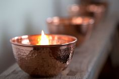 Etsy Oil Candle  | Featured in Inside Design: Kissed with Copper by Pear Tree