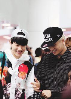 Baekhyun and Kai - EXO