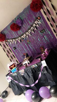 Descendants Inspired Birthday Banner Party