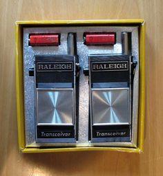 Vintage Walkie Talkie's