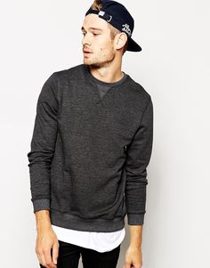 So fine / Sweatshirt with Crew Neck / ASOS