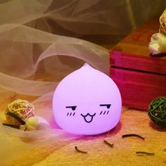 SHARE & Get it FREE | Colorful Waterdrop Emoticon LED Cartoon Ombre Night LightFor Fashion Lovers only:80,000+ Items • New Arrivals Daily • Affordable Casual to Chic for Every Occasion Join Sammydress: Get YOUR $50 NOW!