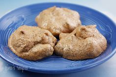 Chocolate Chip Clouds - These chocolate chip meringue cookies are a wonderful alternative to standard chocolate chip cookies.