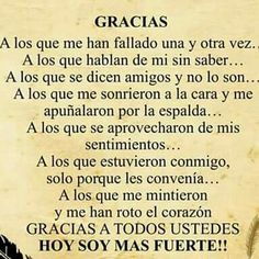 Spanish Inspirational Quotes, Spanish Quotes, Positive Phrases, Motivational Phrases, Favorite Quotes, Best Quotes, Sister Quotes Funny, Tips To Be Happy, Quotes En Espanol