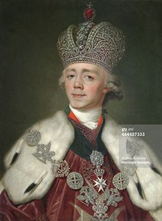 Portrait of the Emperor Paul I of Russia', (1754-1801), - Getty Images