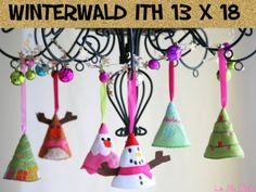 Meilensteine StickTime - Winterwald ITH Stickdatei 13 x 18