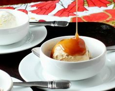 Blood Orange Caramel Sauce…recipe by Pastry Chef Online.