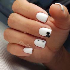 Stylish Nails, Trendy Nails, Cute Acrylic Nails, Fun Nails, Mickey Nails, Minnie Mouse Nails, Nagellack Design, Short Nails Art, Super Nails