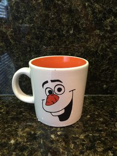 Olaf Coffee Mug by PartiesByMelissa on Etsy