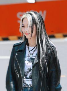 Hair Color Streaks, Hair Dye Colors, Hair Highlights, Shot Hair Styles, Curly Hair Styles, Hair Inspo, Hair Inspiration, Skunk Hair, 00s Mode