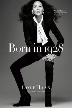Currently 84, Avedon, Machado was one of the most requested runway models in the '50s. She modelled for Cole Haan at the age of 83
