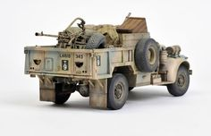 LRDG Gun Truck (Tamiya 1/35) by C.Wauchop and B.Green