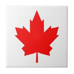 Canadian Maple Tiles!  #new #flag #zazzle #store #gift #shop #customize #home #apparel #office http://www.zazzle.com/flagsbydww25921*