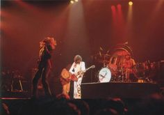 Led Zeppelin in LSU Assembly Center, Baton Rouge, Louisiana, May 19, 1977.
