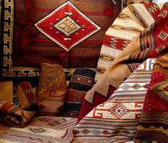 Navajo rugs, just for starters. Anything Southwest will do.....