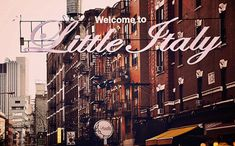 Little Italy - New York City art Print, New York Landscape Photography by Leigh Viner New York Landscape, City Landscape, Manhattan Times Square, Lower Manhattan, City Photography, Landscape Photography, Little Italy New York, New York City, I Love Ny