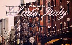 Little Italy - New York City art Print, New York Landscape Photography by Leigh Viner New York Landscape, City Landscape, Manhattan Times Square, Lower Manhattan, City Photography, Landscape Photography, Little Italy New York, New York City, Vintage New York