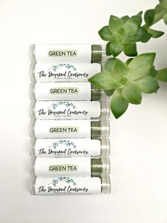 The Product: This organic lip balm uses coconut oil infused with organic green tea. This tea-infused organic lip balm features the shea butter, cocoa butter, and oils to give you the moisture your lips need! Organic matcha green tea powder gives it its nice shade of green. It comes