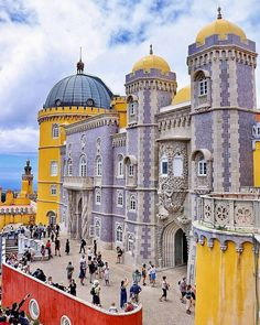 Pena Palace (Sintra, Portugal) by Justin Sherman Sintra Portugal, Visit Portugal, Spain And Portugal, Best Places In Portugal, Hotels Portugal, Portugal Vacation, Portugal Travel, Europe Holidays, Beautiful Castles