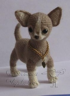 059 Toy Terrier dog - Crochet Pattern PDF file Amigurumi by Chirkova Knitted Dolls, Crochet Dolls, Crochet Baby, Free Crochet, Knit Crochet, Crochet Dog Patterns, Amigurumi Patterns, Amigurumi Doll, Unique Crochet