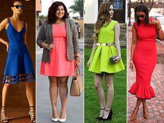 Vestidos e Saias de Neoprene: Use e abuse desta tendência!