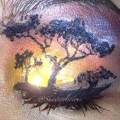 Fantasy makeup / makeup#fantasy #makeup #eyeart #art #eyeshadow