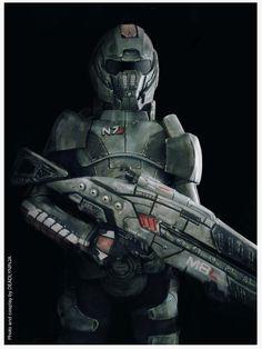 Fantastic armor in this Commander Shepard cosplay! - 9 Commander Shepard Cosplays