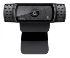 Logitech HD Pro Webcam with Privacy Shutter - Widescreen Video Calling and Recording, Streaming Camera, Desktop or Laptop Webcam Logitech, Computer Camera, Best Computer, Computer Shop, Desktop Accessories, Laptop Accessories, Windows 10, Best Wifi, Software