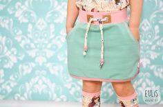 Bubblegum-Skirt  / Schnittmuster mit Nähanleitung - Nähanleitungen bei Makerist