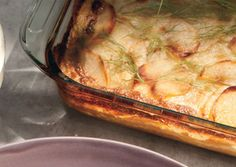 Scalloped Potatoes and Fennel - Bon Appétit: This is one of my new favorites! Been making it a few years now. I use sweet potatoes in place of russet.
