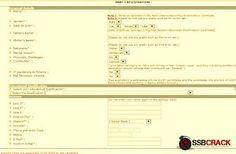 How to Apply for NDA (II) Exam 2013 Online by www.ssbcrack.com