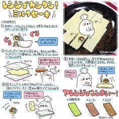 ぼく@(DF)A-424 (boku_5656)さんはTwitterを使っています Sweets Recipes, Easy Desserts, Japanese Sweets, Food Illustrations, Food Menu, Food Art, Food And Drink, Make It Yourself, Cooking