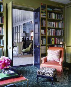 Kate Rheinstein Brodsky's Apartment in ELLE DECOR via La Dolce Vita